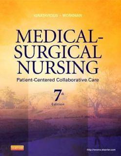 Medical Surgical Nursing By Ignatavicius, Donna D./ Workman, M. Linda