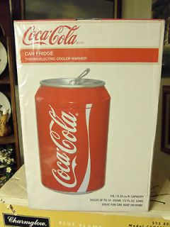 COCA COLA CAN FRIDGE THERMOELECTRIC COOLER HOLDS 10 12OZ CANS NEW