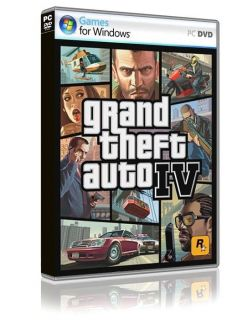GRAND THEFT AUTO GTA IV ROCKSTAR PC DVD VIDEO GAME NEW SEALED OFFICIAL