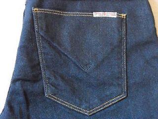 HUDSON NICO WOMENS MIDRISE SUPER SKINNY DARK BLUE LEGGING JEAN PANTS