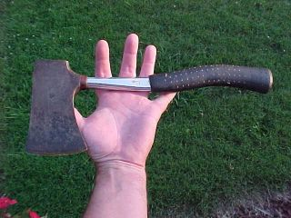 VINTAGE TRUE TEMPER BOY SCOUT BSA HAND AXE HATCHET #2