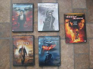 DVDS ACTION LOT 5 GHOST RIDER DARK KNIGHT BLADE CONSTANTINE