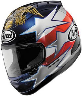 Arai Corsair V Edwards Patriot Full Face Helmet L/Large
