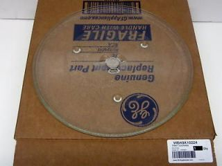 Genuine GE Microwave Turntable Cooking Glass Tray Dish Plate