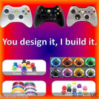 Xbox360 Controller Service Rapid Fire, LED Mod, Custom Parts