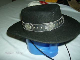 Harley Davidson Cordoba Wool Hat Womens XS (21) SHARP