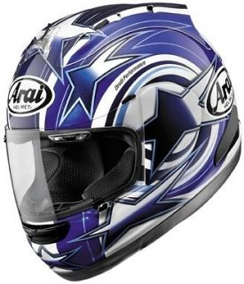 Arai Corsair V Edwards Motorcycle Helmet Blue Large L