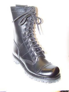 NEW CORCORAN (USA) STYLE 985 MENS BLACK LEATHER COMBAT BOOT