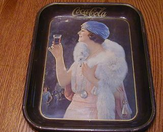 vintage coca cola tray in Trays
