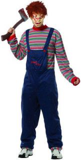 Adult Std. Adult Chucky Costume   Scary Halloween Costumes