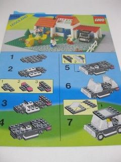 LEGO LEGOLAND VINTAGE 6349 VACATION HOUSE MANUAL ^^^INSTRUCTIONS ONLY