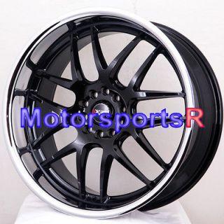 XXR 526 Black Polished Lip Rims Wheels 09 10 11 Nissan Altima SE Coupe
