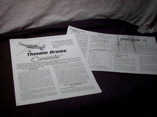 cox thimble drome in Radio Control & Control Line
