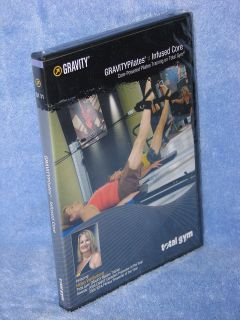 TOTAL GYM! ~ NEW! ~ GRAVITY PILATES INFUSED CORE DVD EXERCISE PROGRAM!