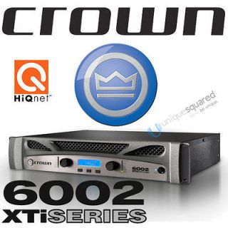 crown xs 1200 xs1200 2 channel studio monitor power amp amplifier. Black Bedroom Furniture Sets. Home Design Ideas
