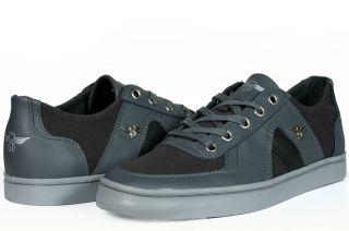 Creative Recreation Mens Milano 2 XVI Smoke Grey Lace Up Sneakers NEW