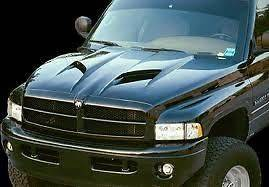 Dodge Ram Air Functional Truck Hood 2002,2003,2004,2005,2006,200