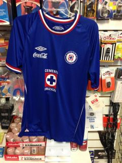 AUTHENTIC UMBRO 10 11 HOME CRUZ AZUL JERSEY SHIRT FUTBOL SOCCER
