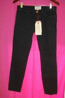 Current Elliott Cropped Skinny Black Pearl Womens Jeans Sizes 27 32