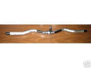CABLE ATTACHMENT Revolving Curl Lat Bar 28 High Quality solid Steel