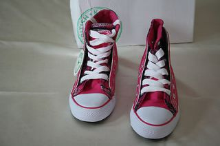 NEW BRITISH KNIGHTS DAMIAN 1 FUXIA Mid level ankle GIREL SIZE : US 11