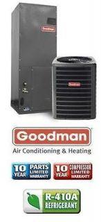 Ton 14 Seer Goodman Heat Pump System   GSZ130301   AVPTC18301