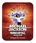 Item#555 Michael Jackson World Tour Poster facsimile autograph