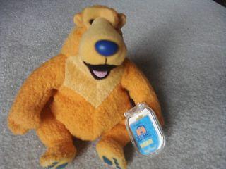 Jim Hensons Bear In The Big Blue House Childs Soft Plush animal