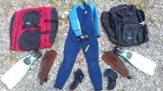 Skin Scuba Diving Equipment Gear Body Glove Wet Suit DataMax II Ariat