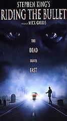 Stephen Kings Riding the Bullet VHS, 2005