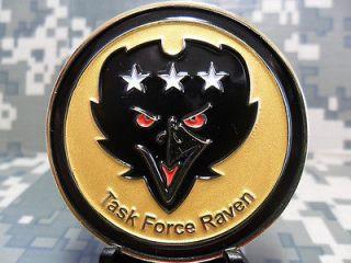 RARE TASK FORCE RAVEN NAVY SEALS SPECIAL OPS ADMIRAL MCRAVEN JSOC