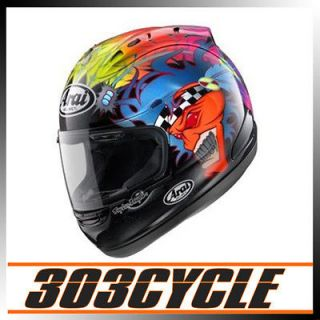 Arai Corsair V Scott Russell Replica Full Face Motorcycle Helmet
