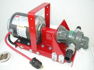 GPM Gear Pump Waste Oil Transfer Heaters,Burners,Furnace,Dayton Motor