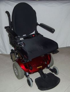 JAZZY SELECT POWER CHAIR ( SYNERGY WHEEL CHAIR CUSHION AND BACK)