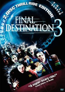 Final Destination 3 DVD, 2006, 2 Disc Set, Full Frame Special Edition