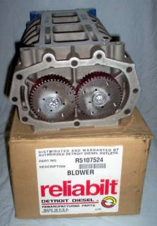 DETROIT DIESEL RELIABILT # 6V53N ENGINE BLOWER USA MADE