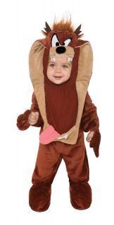Taz Tasmanian Devil Infant Baby CHILD Costume Size 12 18 Months NEW