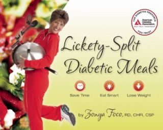 Lickety Split Diabetic Meals Save Time, Eat Smart, Lose Weight by