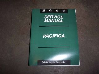 2004 Chrysler Pacifica Factory Service Repair Manual