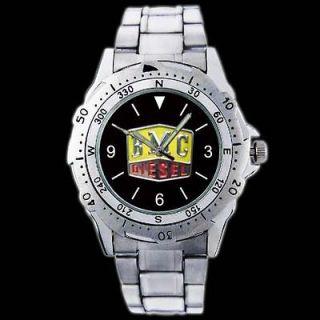 BMC British Motor Diesel Tractor Truck Engine Metal Wrist Watch