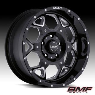 BMF S.O.T.A. 20x10 Death Metal Black Wheels 5x150   Tundra/Sequoia