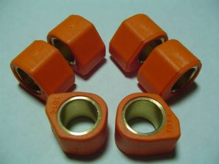 variator roller polygon sliders, 16x13, gy6 50cc Honda DIO scooter