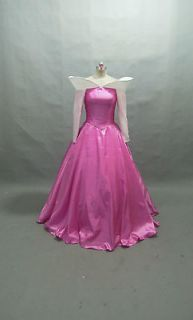 Disney Dress Sleeping Beauty Princess Aurora Costume adult SIZE 6,8,10