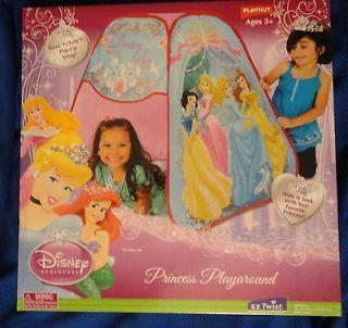 Disney Princess Playhut Playaround Tent Tunnel Port TwistnFold PopUp