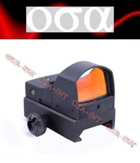 Mini Docter Style Reflex Red Dot Sight with Optical Sensor Auto Power