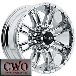 Incubus Crusher Wheels Rims 8x165.1 8 Lug Chevy GMC Dodge 2500 2500HD