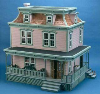 wooden doll house in Dolls & Bears