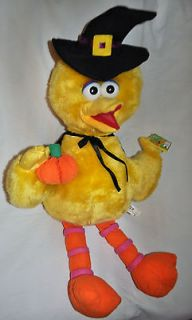 NEW BIG BIRD of SESAME STREET PLUSH TOY Over 2 Feet Long ~ Witch