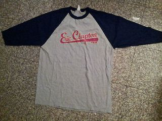 Mint Condition Eric Clapton 2004 Tour Jersey Tee Shirt SZ XL Free