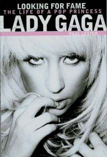 LADY GAGA   Looking For Fame   Paperback Biography Book by Paul Lester
